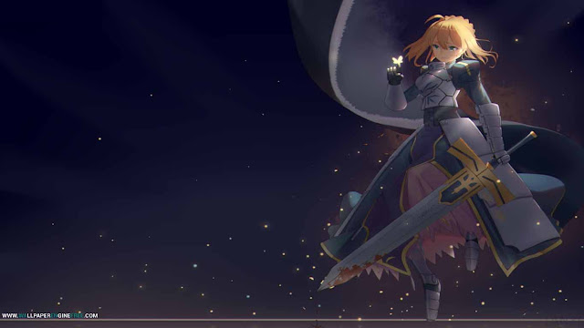 My king Saber Wallpaper Engine