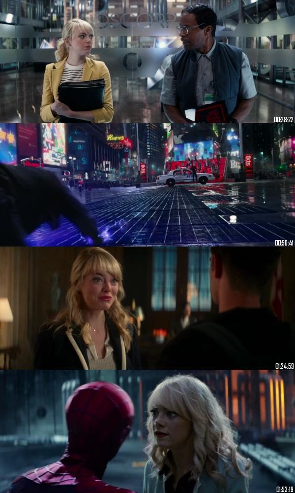 The Amazing Spider-man 2 (2014) BRRip 720p 480p Dual Audio Hindi English Full Movie Download