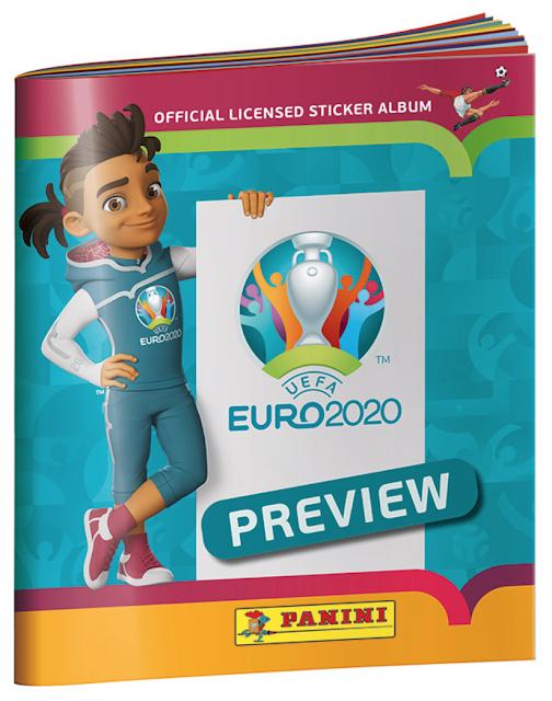 Album Euro 2020 Anteprima