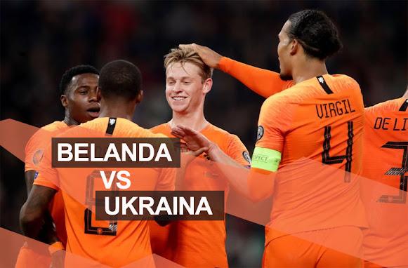 Prediksi Skor Belanda Vs Ukraina 14 Juni 2021