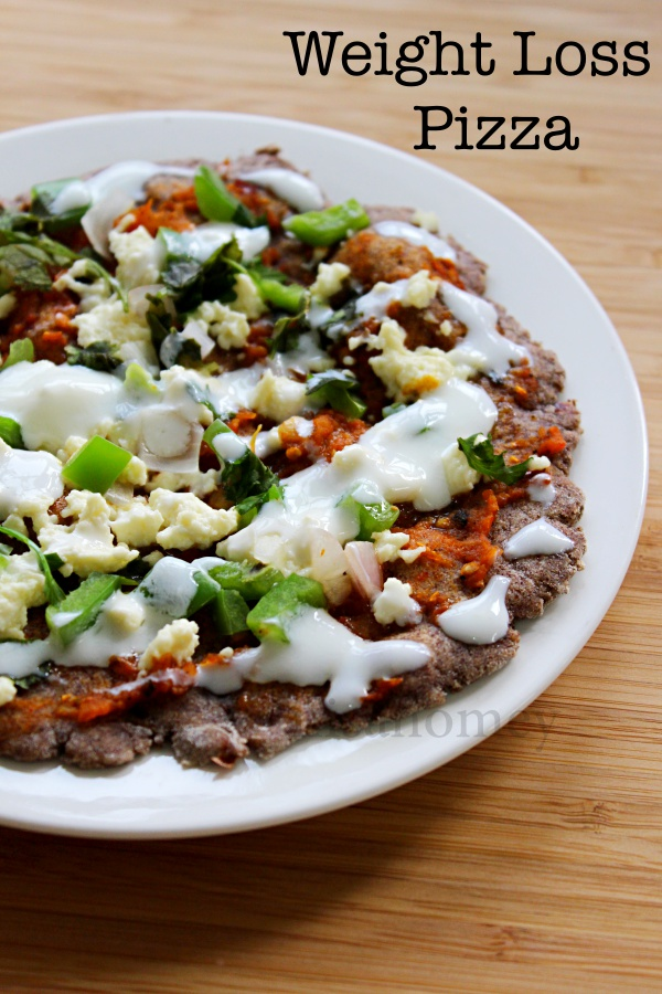 weight loss pizza recipe