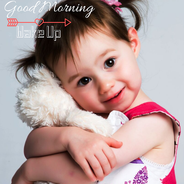 Glad Cute Baby Good Morning Images