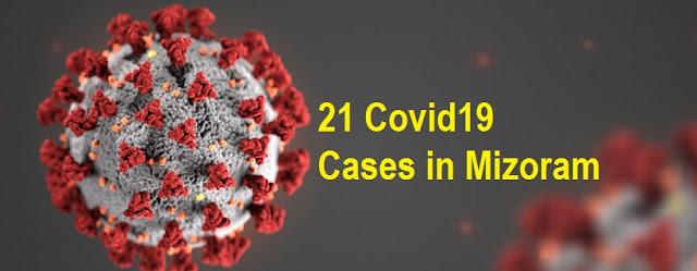 COVID19 MIZORAM - 5 NEW CASES