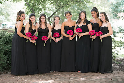 K'Mich Weddings - wedding planning - bridesmaids dresses