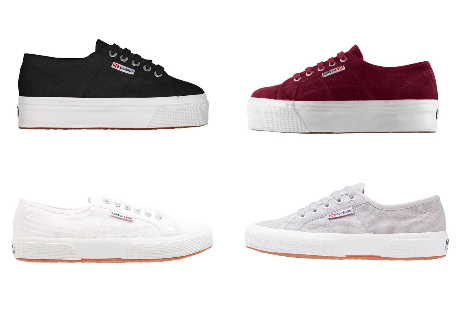 Superga, flatform, classic, 2750, 2790, suede, bordeaux, white, black, grey, minimal, sneakers, 2018, SS18