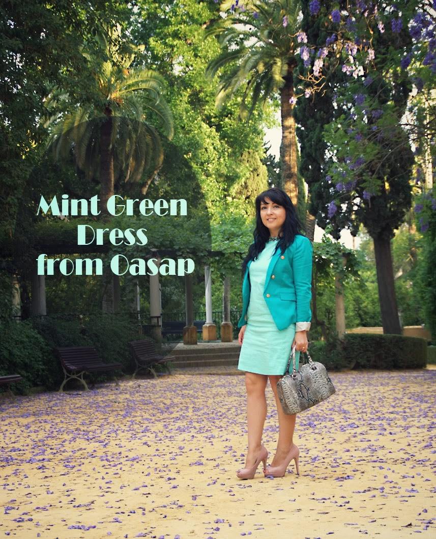 Mint+Green+Dress+from+Oasap