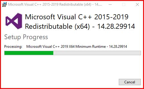Installing Microsoft C++