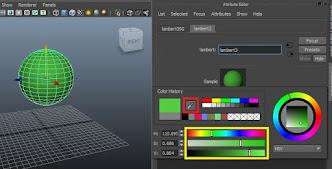 color settings, object lighting