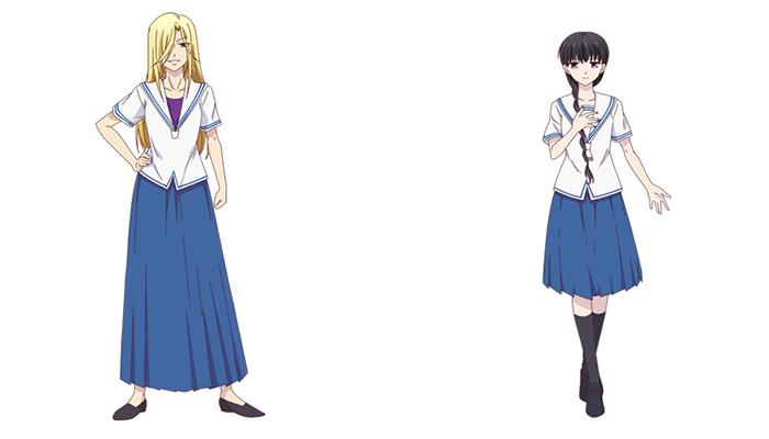 Fruits Basket anime (2019) - personajes
