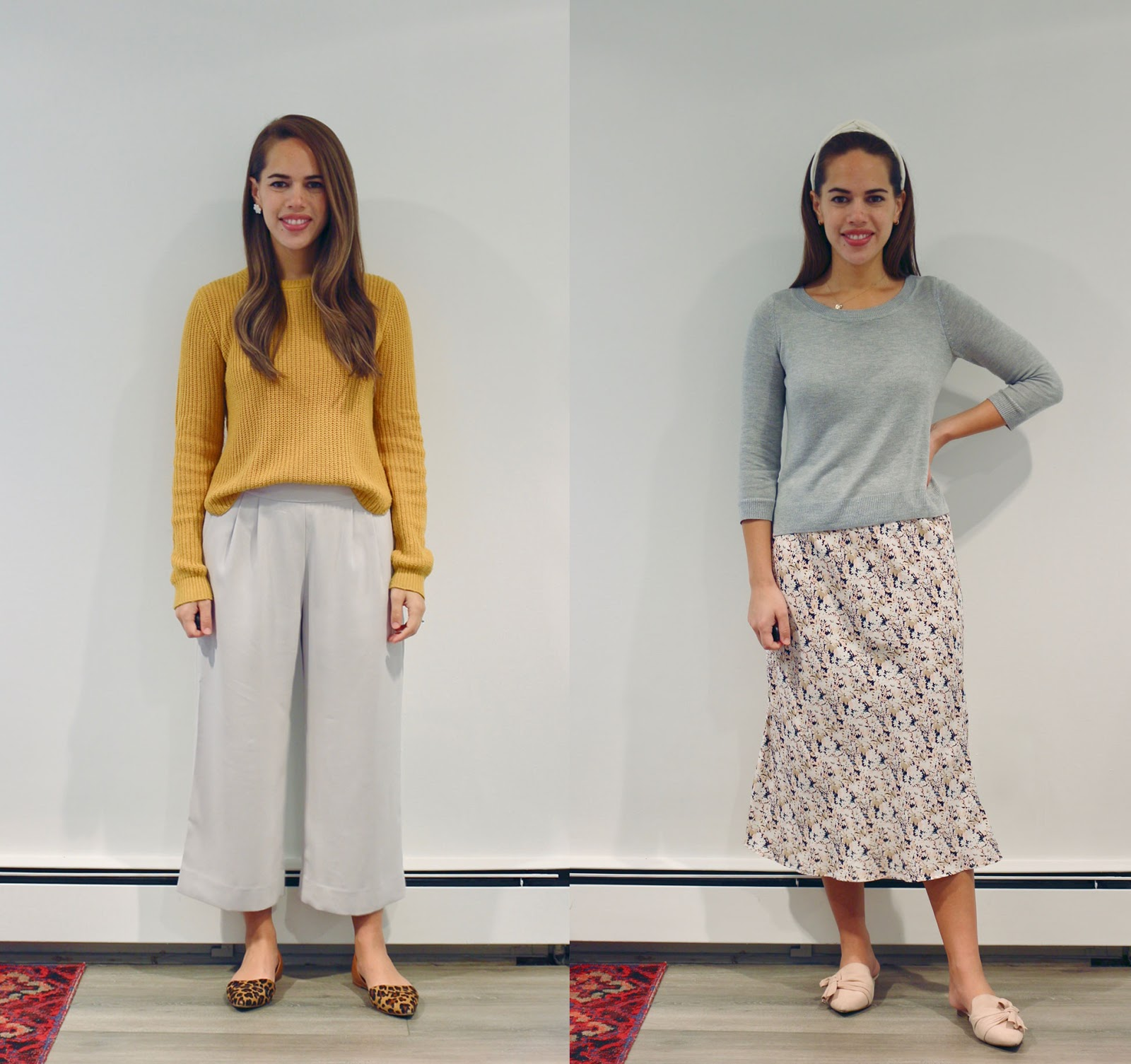 Jules in Flats - September Outfits (Business Casual Workwear on a Budget)