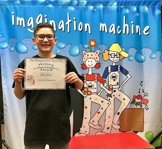 Imagination Machine 5th grade student author