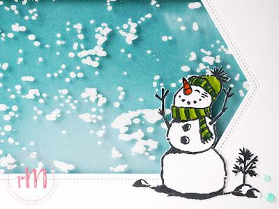 Stampin' Up! rosa Mädchen Kulmbach: Kreativ Trip: Hurra…es schneit – Weihnachtskarten in Laminiertechnik mit Raffiniert bestickte Rahmen, bestickte Rechtecke, Frostige Grüße und Leuchtende Weihnachten