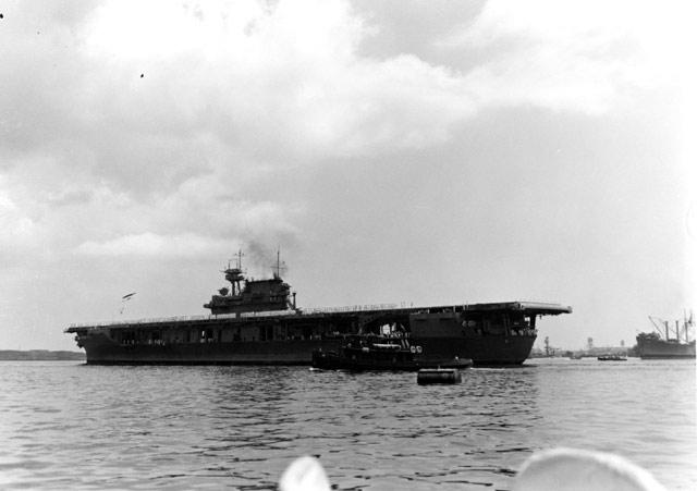 USS Yorktown on 27 May 1942 worldwartwo.filminspector.com