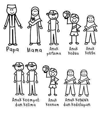 Stiker Happy Family