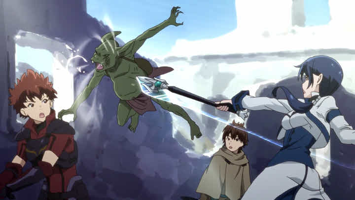 Grimgar: Ashes and Illusions ight with goblin