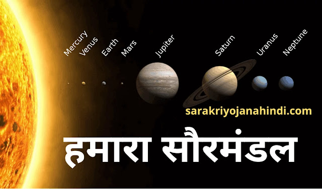Solar System In Hindi-Most important general knowledge questions in Hindi