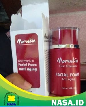 Moreskin First Premium Facial Foam Anti Aging 100ml
