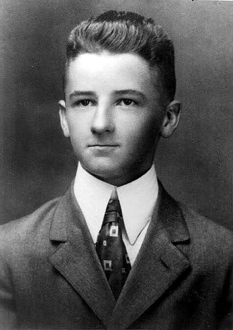 Young William Faulkner