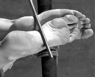 bastinado piedi femminili