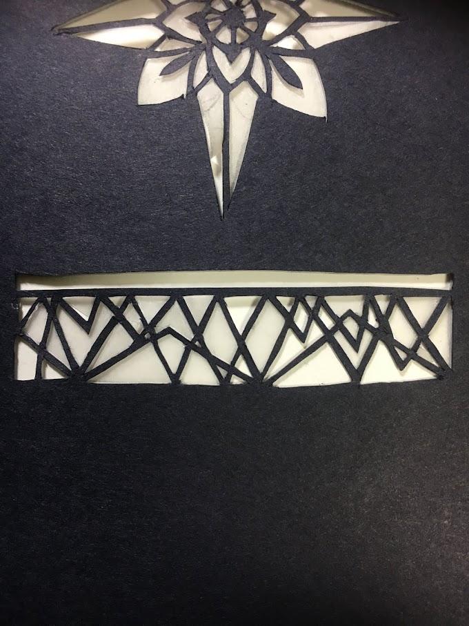【切り絵のコツ】線をまっすぐ揃えて綺麗に見せるための切る順番のポイント