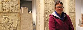 Egyptologist Lara Weiss