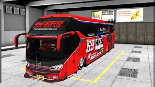 Bus SR2 RACING, Model Kendaraan Game Bus Simulator Indonesia!