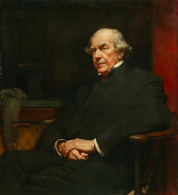 Portrait of James Staats Forbes by William Orpen, 1900 held in Manchester Art Gallery