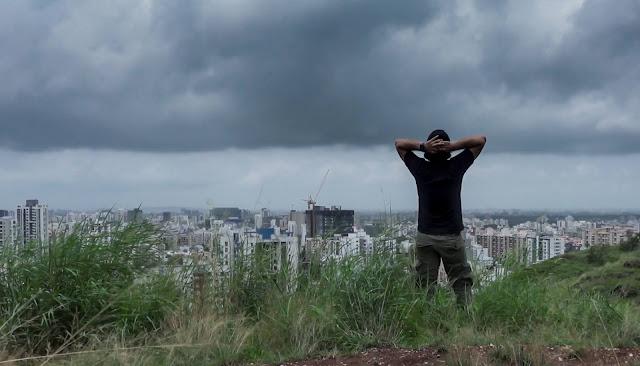 vetal tekdi, pune, Maharashtra, hiking, trekking