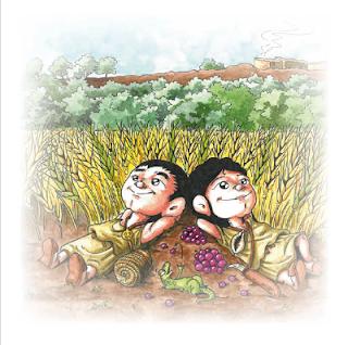 Esguard de Dona - Presentació del conte infantil  La Kesse i el Kosse a la Font de la Canya