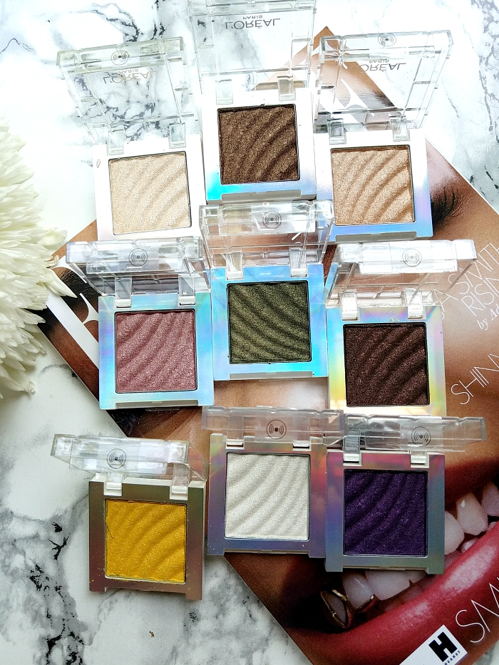L´Oréal Paris - Color Queen Oil Mono Eyeshadow - Review & Swatches 4
