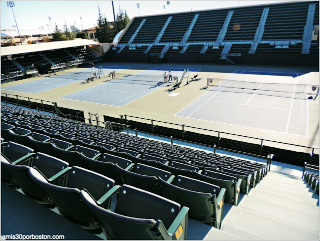 Pistas de Tenis, Universidad de Stanford