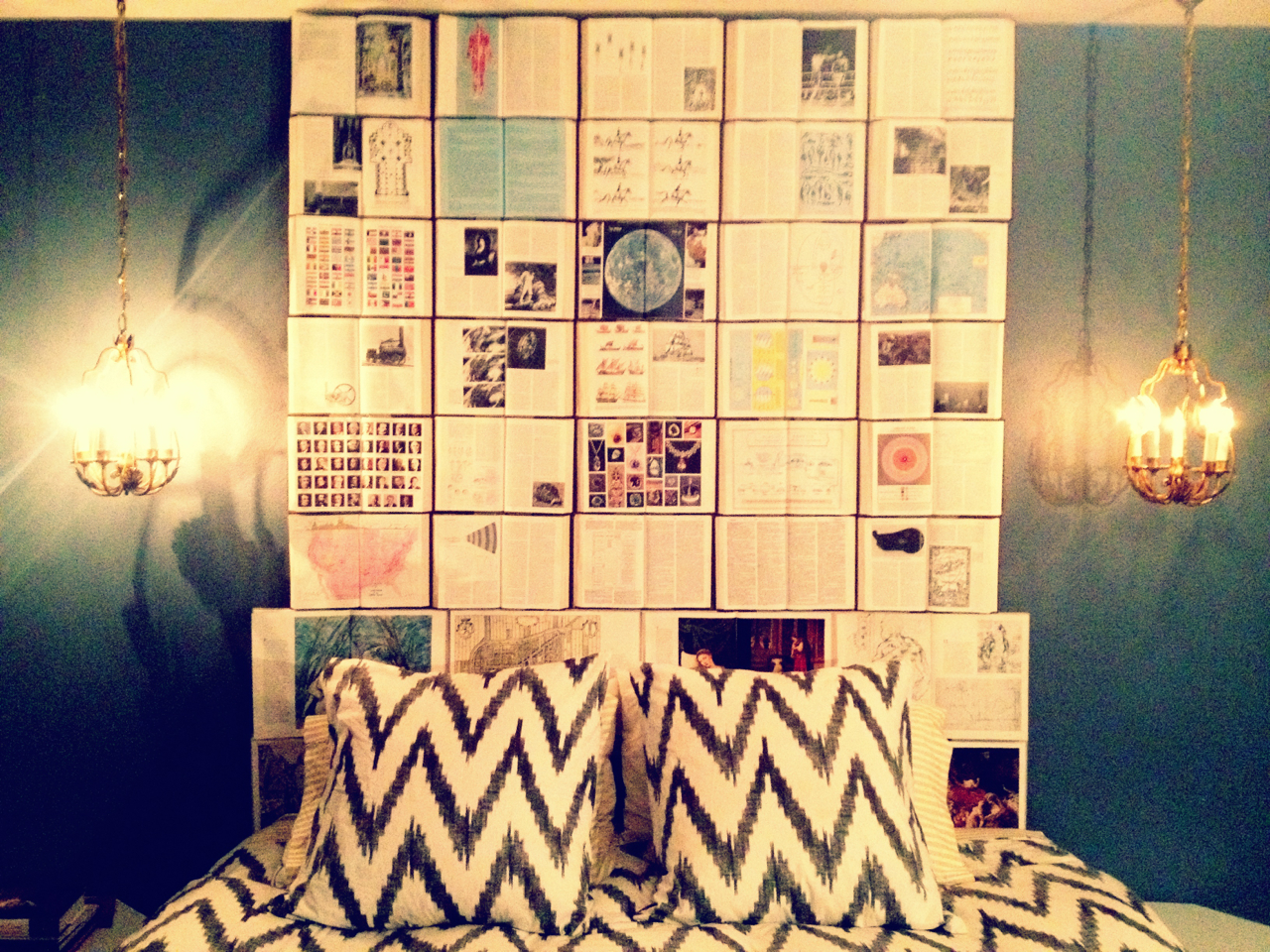 Book Headboard The Art Of Up Cycling Diy Furniture