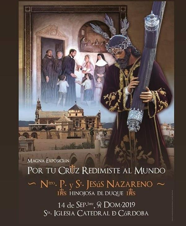 Cartel de Jesús Nazareno de Hinojosa del Duque para la Magna de Córdoba