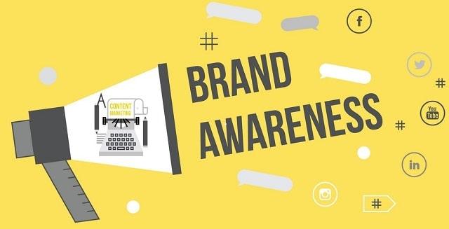 ways to build business brand awareness grow company branding