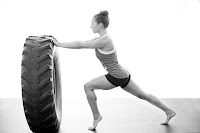 tractor tire workout fat burning