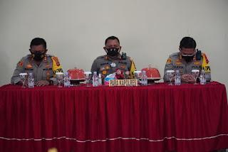 Kapolres Luwu Utara Hadiri Supervisi Operasi Aman II di Aula Mapolres Palopo