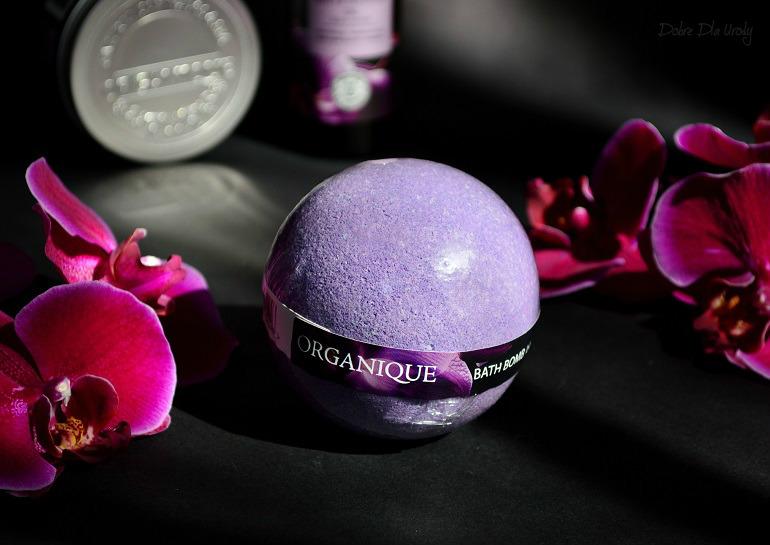 Rytuał Czarna Orchidea Organique - Kula do kąpieli