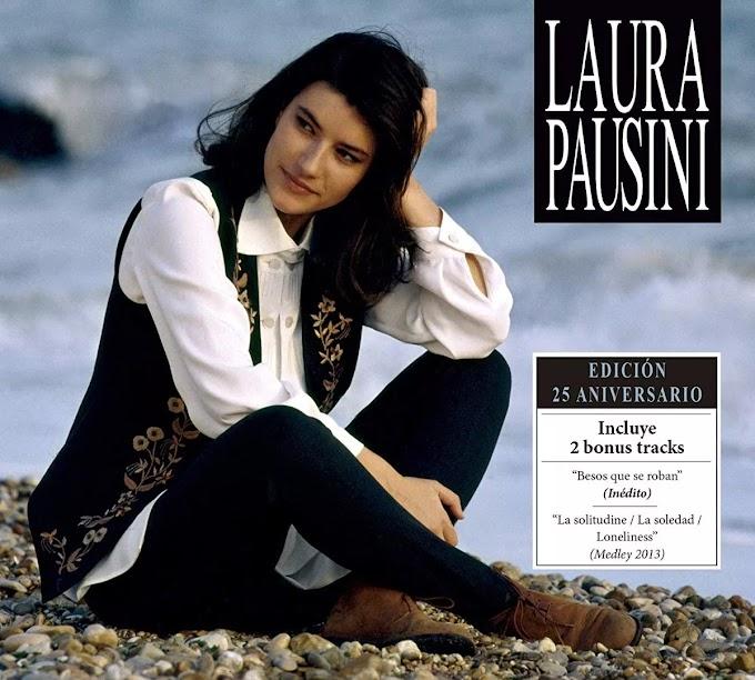 Encarte: Laura Pausini - Laura Pausini (Edición 25 Aniversario)