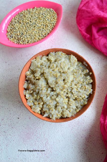 Bajra/Kambu/Pearl Millet rice recipe