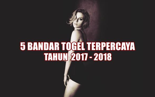 5 Bandar Togel Terpercaya 2017-2018