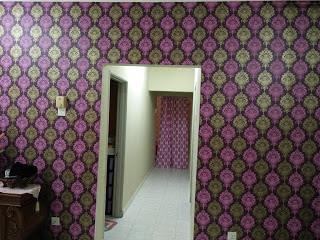 Pasang Wall paper Bajet
