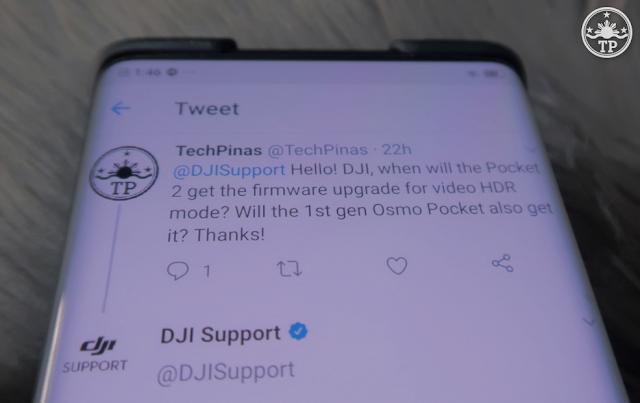 DJI Pocket 2 Video HDR Mode
