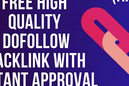 SEO Dofollow Backlinks Instant Approval Off Page SEO