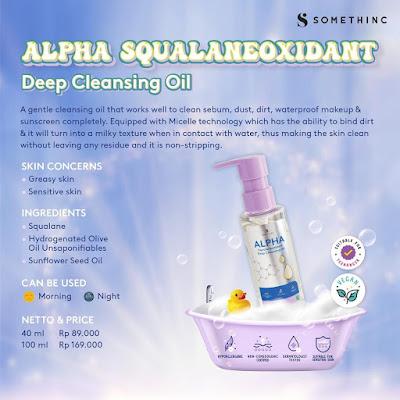 Somethinc Alpha Squalaneoxidant Deep Cleansing Oil