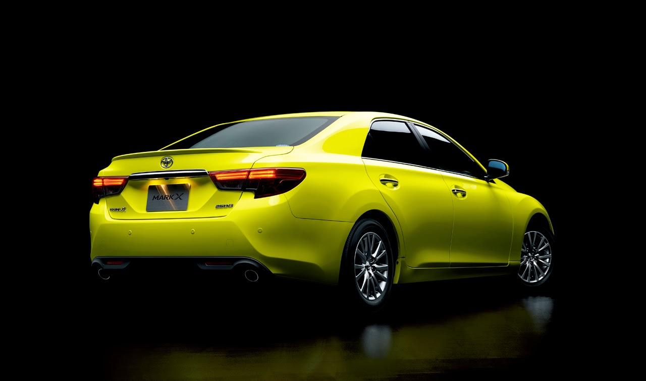 © Automotiveblogz: 2014 Toyota Mark X Yellow Label Photos