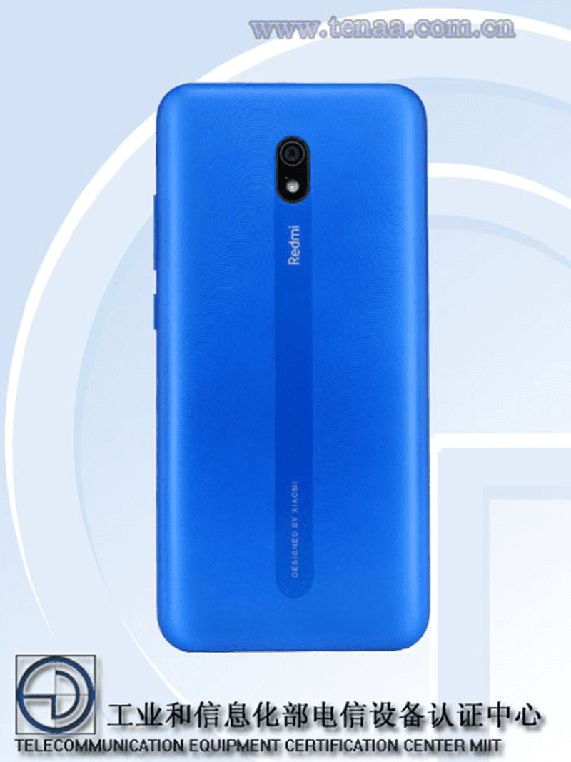 Redmi 8A with Reno-like back design spotted on TENAA