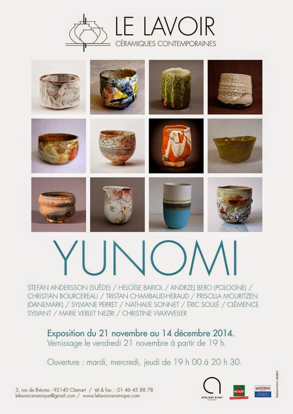 Le Lavoir Clamart exposition Yunomi