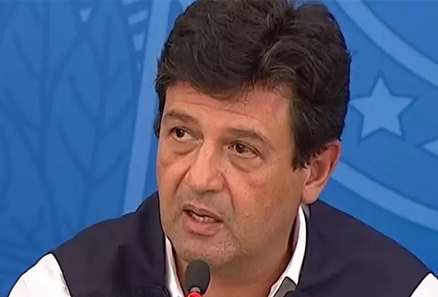 Ministro da Saúde contraria Bolsonaro e pede desculpas à Globo