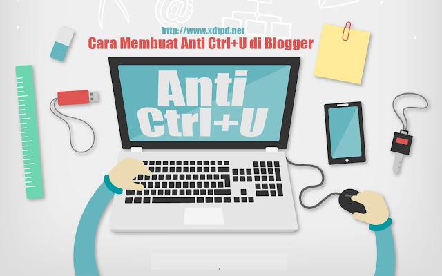 Cara Buat Anti CTRL+U dengan Efek Redirect