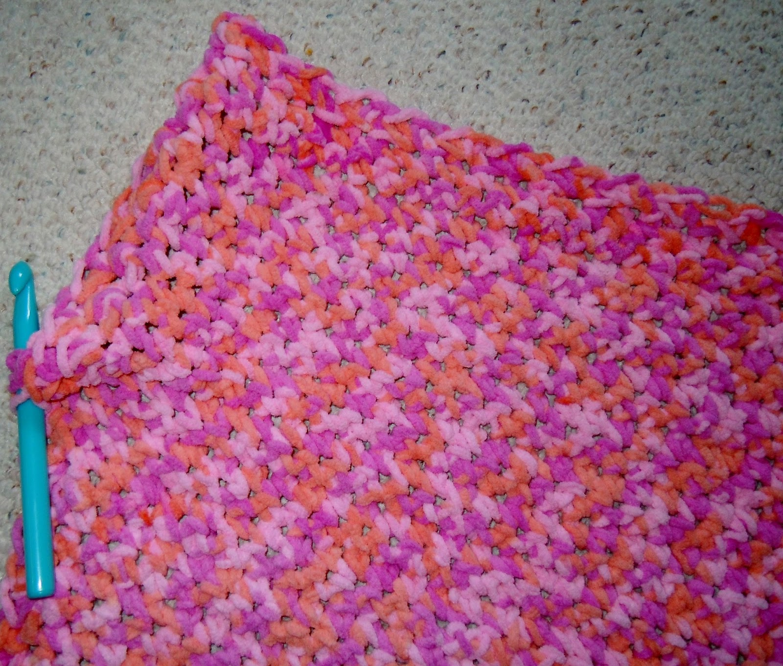 Easy Weekend Crochet Baby Blanket Pattern